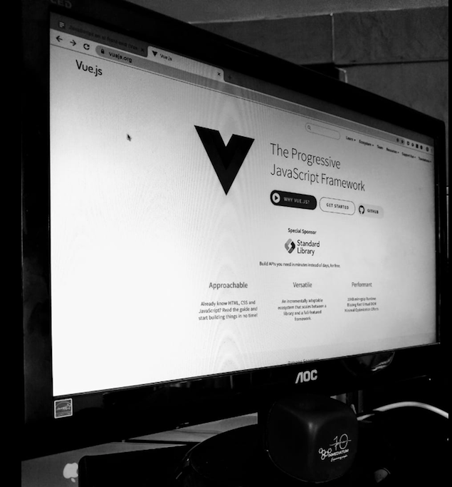JavaScript in the Front-end With Vue js